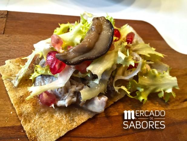 Escabeches de Otoño, la tapa de Villoldo para Mercado de Sabores 2015